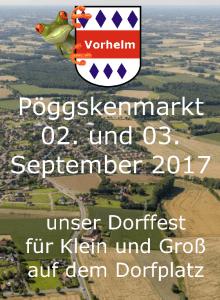 Pöggslenmarkt Flyer Startseite