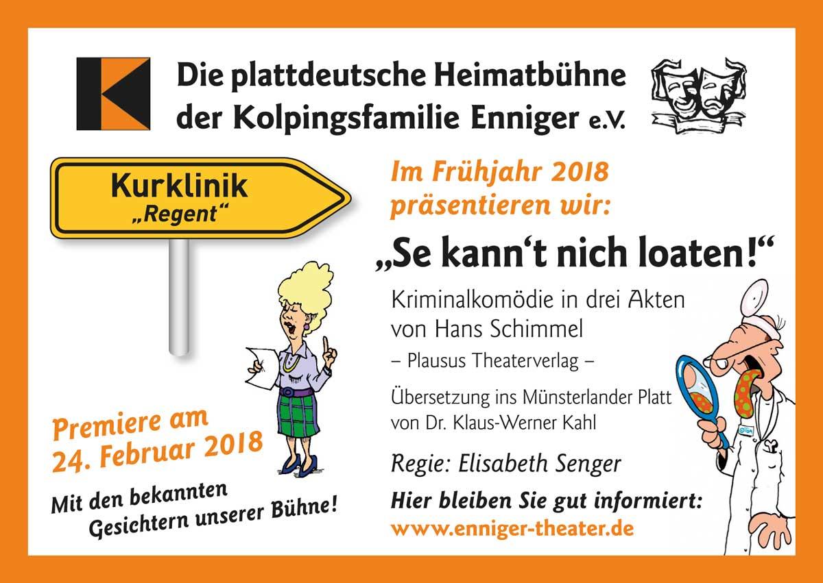 Die plattdeutsche Heimatbühne der Kopingfamilie Enniger