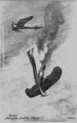 Taube_Feldpostkarte_1918