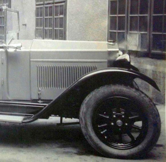Fiat 1927 in Graz_Frontpartie