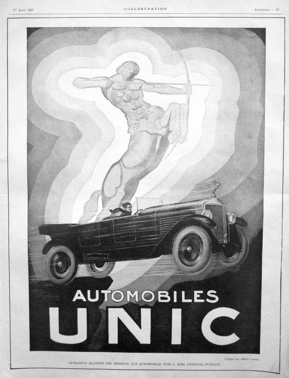 Unic-Reklame_1925_Galerie