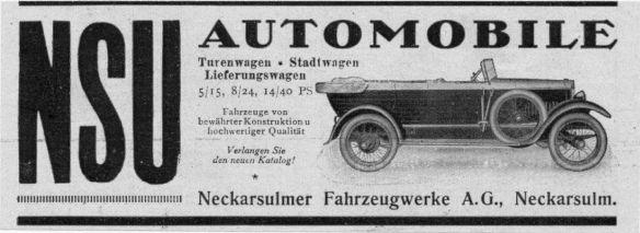 NSU-Reklame_um_1921_Galerie