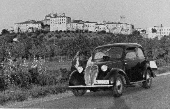 Fiat_1100 aus Wien in Italien Sommer_1939_Galerie
