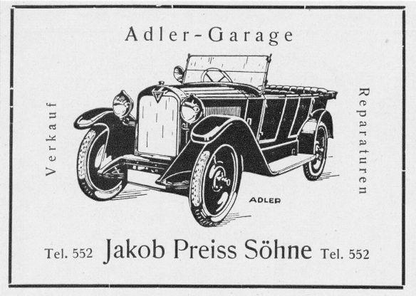 Adler_6-25_PS-Reklame_Garage_Preiss_Pirmasens_Galerie