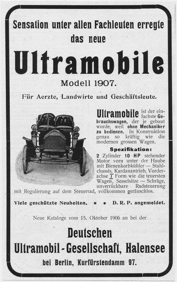 Ultramobile_10_PS_Zweizylinder_Reklame_1906_Galerie