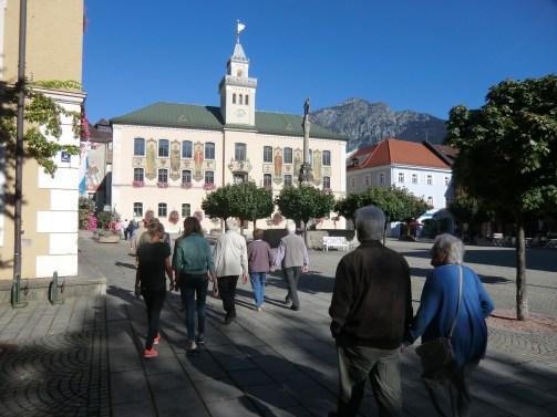 ein beeindruckendes Ensemble Rathaus und Bürgerbräu