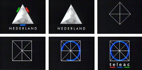 Het Nederland 3 logo  gaat naadloos over in het logo van Teleac (ca 12 sec) waarna een omroeper buiten beeld het programma introduceert (ca 12 sec)