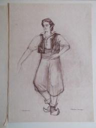 Pedrillo, knecht van Belmonte en de vriend van Blondje gespeeld door Rudolf Kat