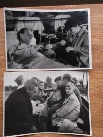 Setfoto's voor Secret File USA, rechtsonder Fokke jr. Collectie Pien Duetz