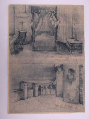 56-4-4 VPRO Hamlet -kamer koningin en terras Hamlet Regie Jack Dixon. Collectie Beeld en Geluid