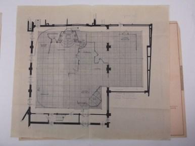 56-4-4 VPRO Hamlet -plattegrond Regie Jack Dixon. Collectie Beeld en Geluid