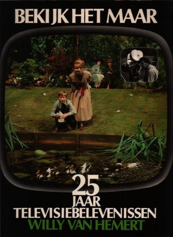 Het 'Vondelpark' van Binnerts siert de cover van het boek van Willy van Hemert over zijn televisiebelevenissen.