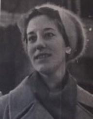 Juliënne van der Erve, ca 1960