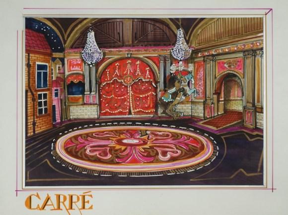 1-2-3 show: Carre (KRO, 13-11-1984), regie Guus Verstaete jr., decor Roland de Groot. Collectie Beeld en Geluid