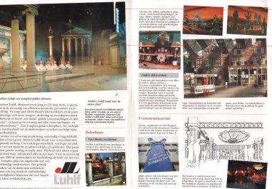 Folder Luhlf decorbouw met foto's 1-2-3 show. Collectie Roland de Groot