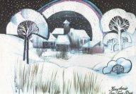 Decorontwerp 1-2-3 show: Romantische kerst (KRO, 25-12-1984), decor Roland de Groot. Collectie Roland de Groot