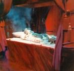 Het testament van Edgar Allan Poe: De grenzen van de dood (AVRO, 18-11-1974), regie Emanuel Boeck, decor Frank Rosen. Collectie Frank Rosen/ fotodienst NOS