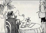 Illustratie 'Tearoom tango'. Collectie Henk Tilder