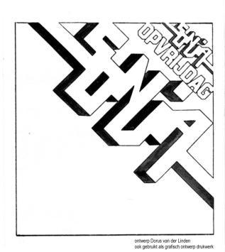 Grafische ontwerp voor Sonja, Collectie Dorus van der Linden
