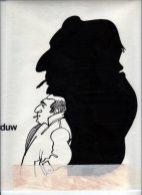 Illustratie 'De schaduw'. Collectie Henk Tilder