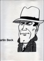 Illustratie 'Martin Beck'. Collectie Henk Tilder