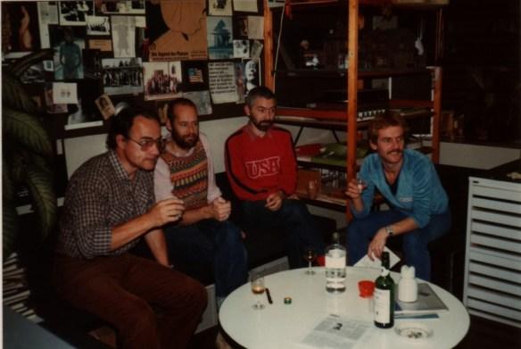 De afdeling maquettebouw in 1982