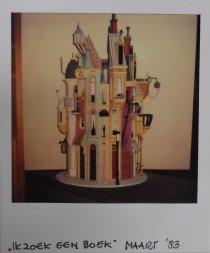 Maquette voor Ik zoek een boek (nb, 1983)