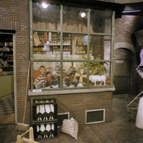 Studiodecor Sesamstraat, 21-2-1977. Collectie Beeld en Geluid