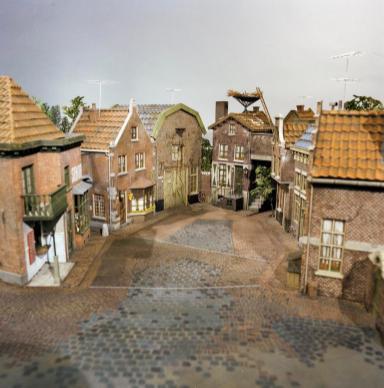 Sesamstraat-maquette. Collectie Beeld en Geluid