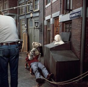 Stef van der Linden speelt Tommie, 21-2-1977. Collectie Beeld en Geluid