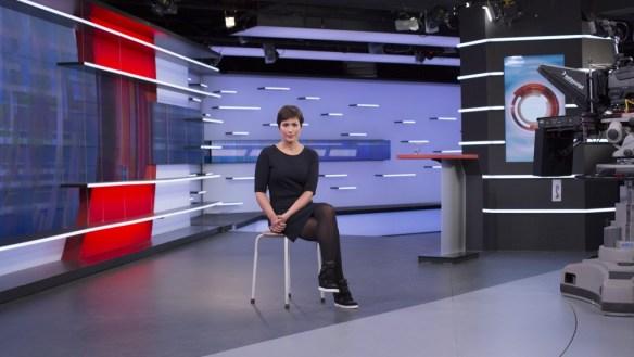 Foto: Judith van IJken, portret: NOS Journaal-presentatrice Annechien Steenhuizen
