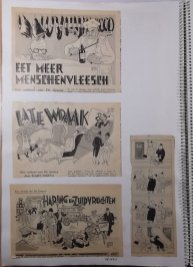 Illustraties bij vrolijke verhalen in De Groene