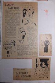 Illustraties voor Franse bladen.