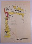 """Grijzen raakt voor de oorlog bevriend met het echtpaar Dumont en trekt bij ze in. Samen met Jaques Dumont, die ontwerpt voor warenuis Metz & Co starten ze een ontwerpstudio voor """"Decoration Theatrale. Decors, Costumes de style modernes."""""""