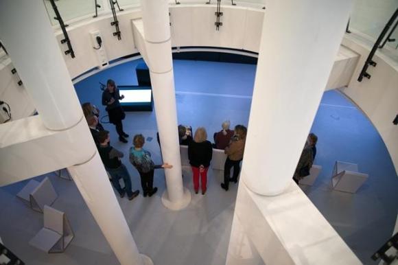 En als het af is krijgen de rondleiders en vrijwilligers van het museum de eerste rondleiding