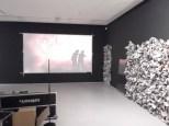 De videowerken op deze etage komen uit de collectie van Li-Ma