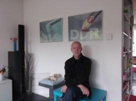 Dick van Stralen vertelde mooie verhalen bij een aantal van 'zijn' nieuwsgraphics