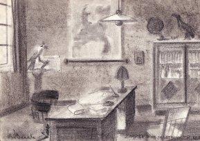 Decorontwerp Nico van Baarle. Collectie Xandra van Baarle
