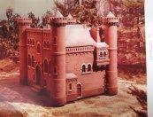 Maquette kasteel Kunt u mij de weg naar Hamelen vertellen, mijnheer? (KRO, 1970-1979). Decorontwerp Jan P. Koenraads. Collectie Martien van den Dijssel