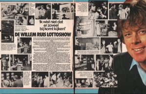 De Willem Ruis Lotto show (VARA 1981-1984), decor: Hub Berkers. Collectie Hub Berkers / NIBG