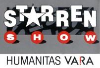 Promotiemateriaal (sticker) Sterrenshow (VARA 1984-1986), decor: Hub Berkers. Collectie Hub Berkers / NIBG