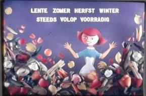 Animatie Productschap voor groenten en fruit (Toonder studio's, 1961), ontwerp Roland de Groot. Collectie Roland de Groot