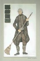 Kostuumontwerp voor Tognino uit De Waaier (Haagse Comedie, 1977). Ontwerp Hans Christiaan. Bron: Marjolein Sligte