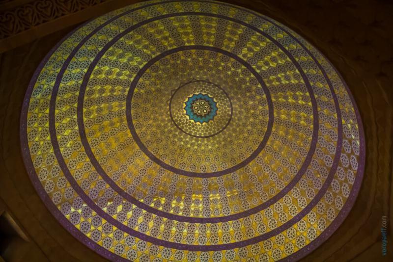 Купол в музее Ширваншахов