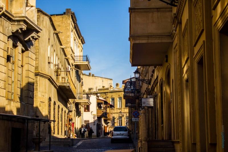 Улочки Баку