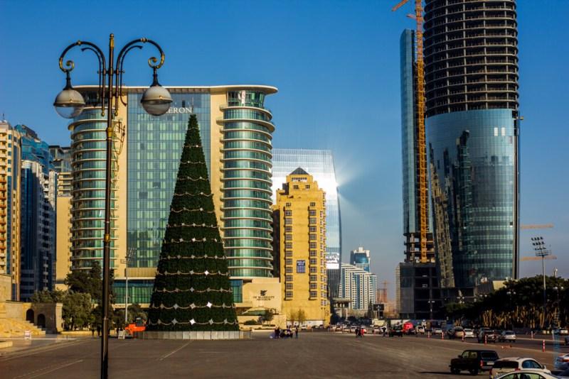 Баку на Новый год