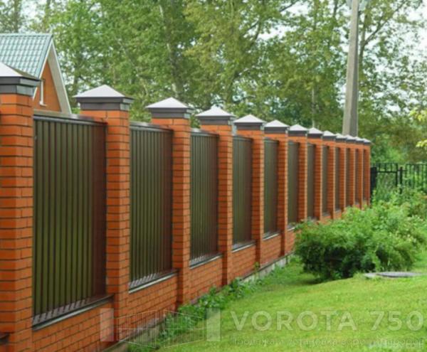 Заборы для дачи фото на сайте Vorota759