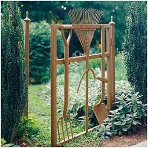 Фото садовых калиток
