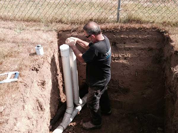burst pipe repair