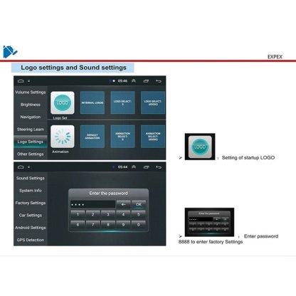 pxmos Auto Car Electronics For BMW E39 E53 X5 9'' Android 9.1 1+16GB Car Stereo Radio GPS WIFI 3G 4G BT DAB Interior Accessories